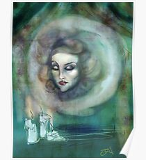 Lass es Musik sein - Madame Leota Haunted Mansion Art Poster
