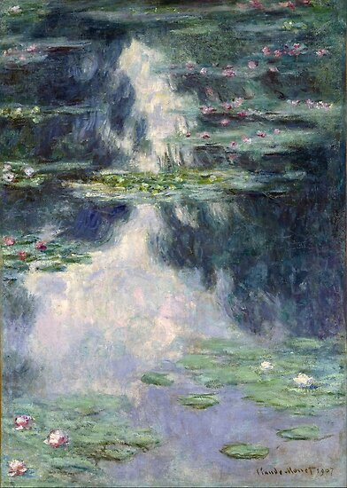 Claude Monet - Seerosen von artcenter