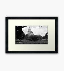 austin, tx Framed Print