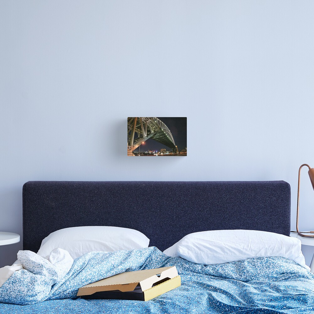 Sydney Series - Under the bridge Canvas Print