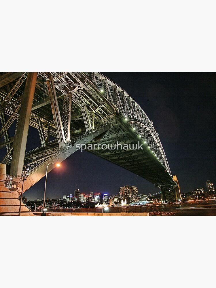 Sydney Series - Under the bridge by sparrowhawk
