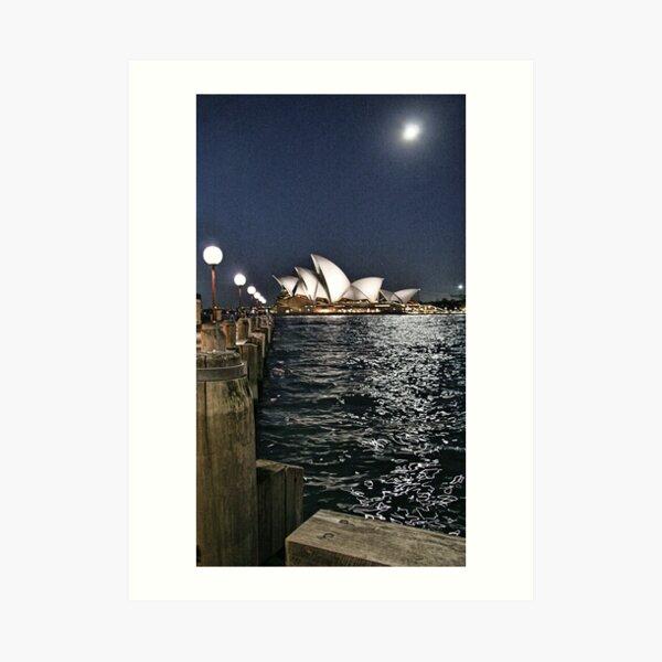 Sydney Series - Opera House Art Print