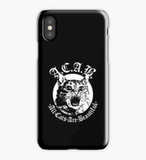 All Cats Are Beautiful iPhone Case/Skin
