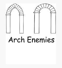 Arch Enemies Photographic Print