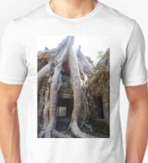 Giant Tree Roots of Ta Prohm Unisex T-Shirt