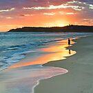 Damian's Sunrise, Nth Stradbroke Is. Qld Australia by Beth  Wode