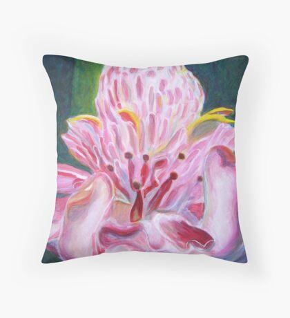 Protea Throw Pillow