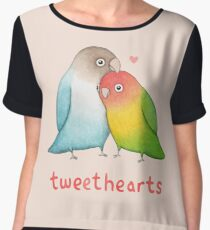 Tweethearts Women's Chiffon Top
