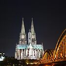 The Cathedral in Cologne by Bente Agerup