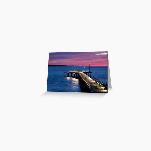 Lorne Pier, New Day, New Life Greeting Card