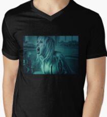 Lunatic's Scream Mens V-Neck T-Shirt