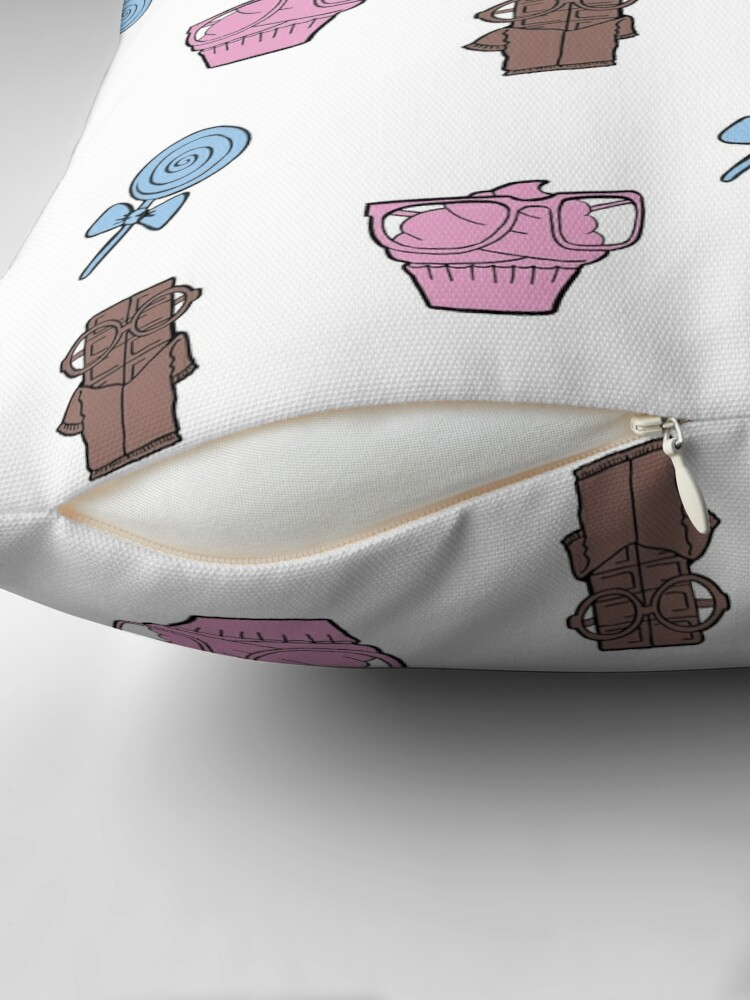Alternate view of Sweet sweets Throw Pillow
