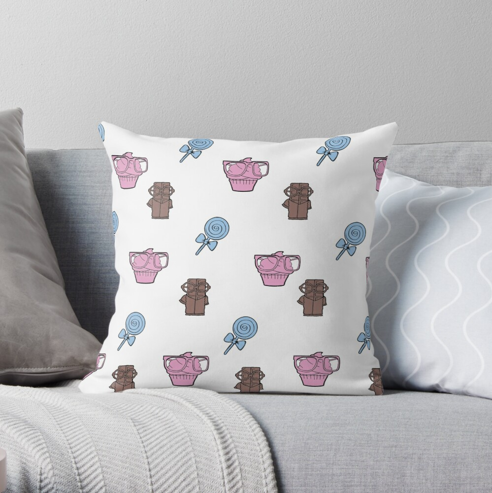 Sweet sweets Throw Pillow