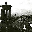 Edinburgh, Calton Hill view by John Glynn ARPS