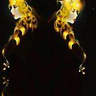 Dark light tapestry by Grant Wilson