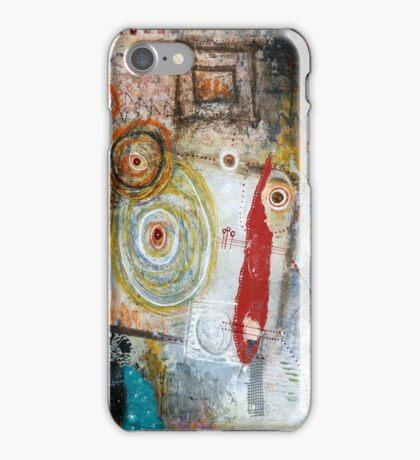 Square Peg, Round Hole iPhone Case/Skin