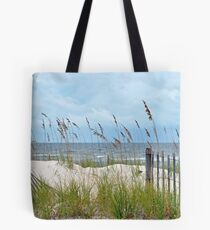 Storm Fence Tote Bag
