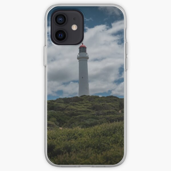 Lighthouse on the Hill at Eastern View in Victoria, Australia iPhone Soft Case