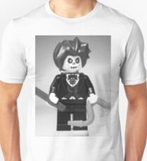 Evil Magician Custom Minifigure with Magic Wand & Snake T-Shirt
