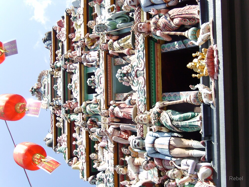 Oldest Hindu Temple, Singapore by Rebel