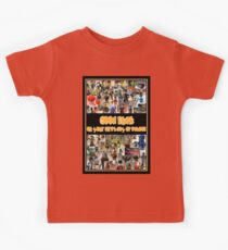 Good Luck on your First Day of School Greeting Card a Montage of Custom Minifigs Kids Tee