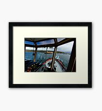 Shipping Lane Framed Print