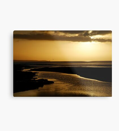 Erskine River and Split Point Metal Print