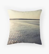 Anglesey evening Throw Pillow