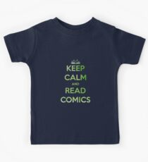 Keep Calm and Read Comics - Comic Books Kids Clothes