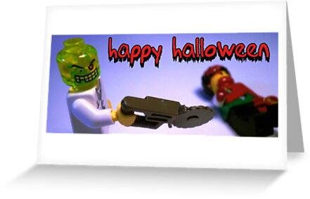 """Happy Halloween"" Custom Halloween Dr Toxic Minifigure by Customize My Minifig"