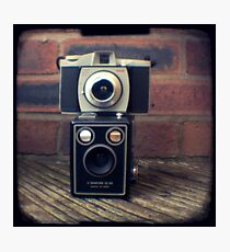 Camera collection Photographic Print