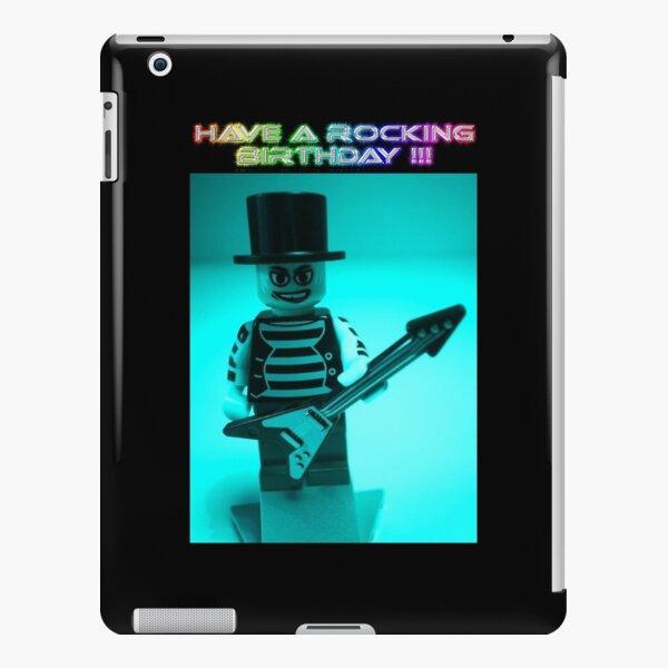 """Have a Rocking Birthday"" Custom Emo Guitarist Birthday Greeting Card iPad Snap Case"
