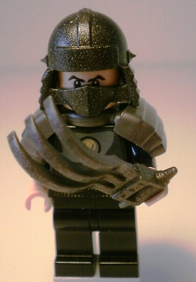 TMNT Teenage Mutant Ninja Turtles Master Shredder Custom Minifig by Customize My Minifig