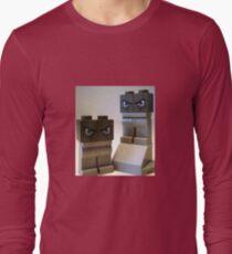 Evil Weird Head Monster Long Sleeve T-Shirt