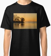 Golden Sunrise Glide With a Bit of Breeze Classic T-Shirt