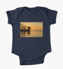 Golden Sunrise Glide With a Bit of Breeze Kids Clothes