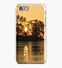 Golden Sunrise Glide With a Bit of Breeze iPhone Case/Skin