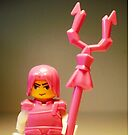 Pink Chinese Hero Warrior Custom Minifig by Customize My Minifig