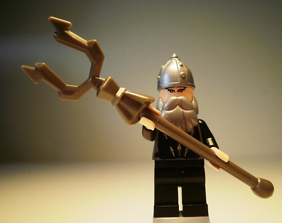 Mongolian Warrior Chief Custom Minifigure by Customize My Minifig