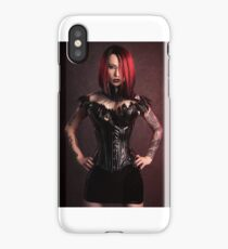 Gothic Beauty iPhone Case/Skin