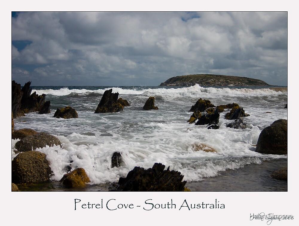 Petrel Cove - South Australia by Helen Simpson