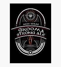 Strong Ale Skooma Photographic Print