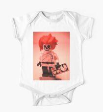 Professor Boom Custom Minifigure with Bomb Kids Clothes