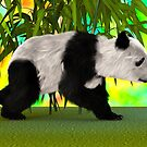 Panda Bear by Vac1