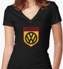 Fahrvergnugen Women's Fitted V-Neck T-Shirt
