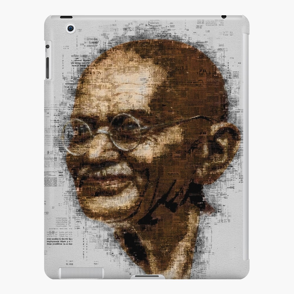 Gandhi iPad Case & Skin
