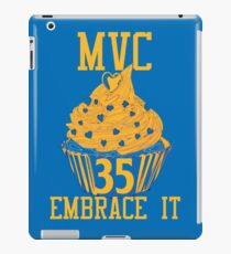 Most Valuable Cupcake #35 Embrace it iPad Case/Skin