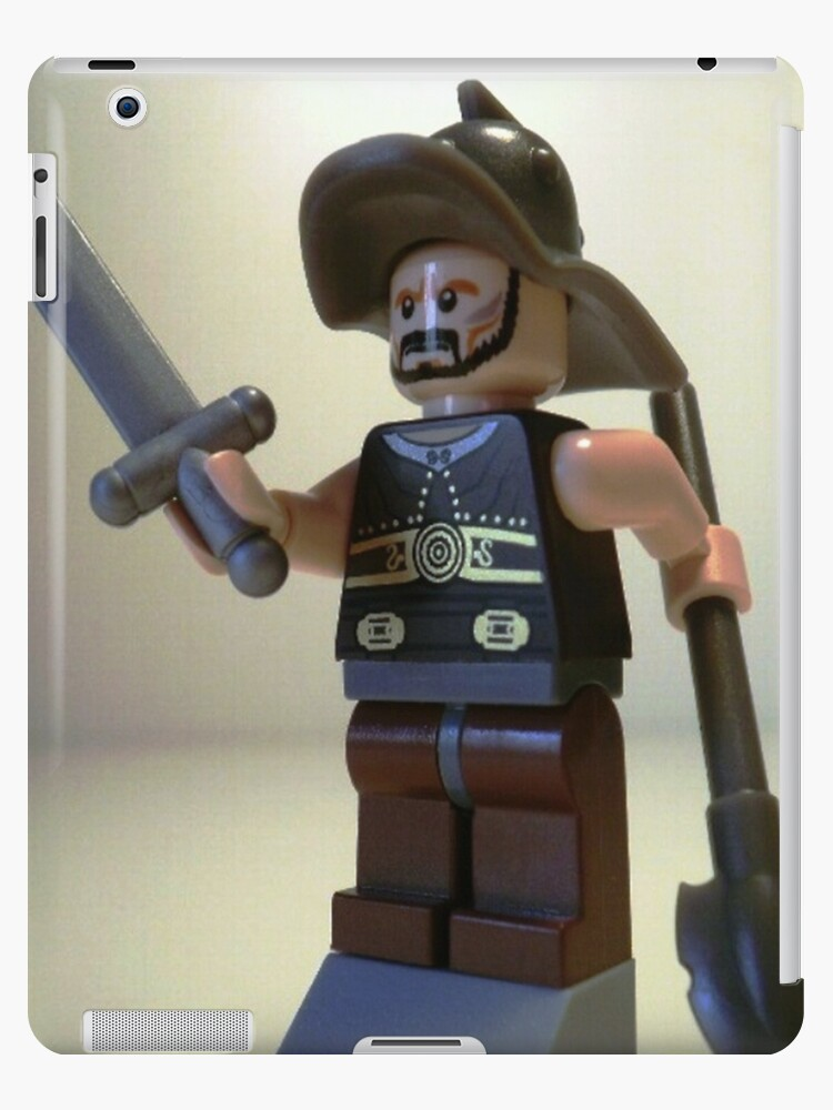 Gladiator 'Titus the Gladiator' Custom Minifigure by Customize My Minifig