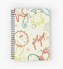 Cuaderno de espiral Under the sea