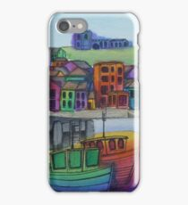 Whitby Harbour iPhone Case/Skin